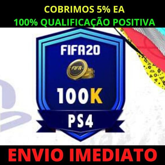 Coins Fifa 20 Ps4 100k Ultimate Team Promoção