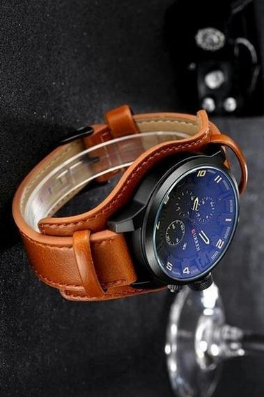 Relógio Importado E Original - Curren® 8225 - + Brinde