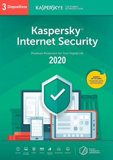 Antivirus Kaspersky Internet Security 2020 3 Usuarios 1 Año