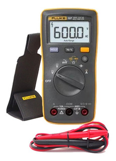Multímetro Digital Fluke 107 Cat Iii + Cabos
