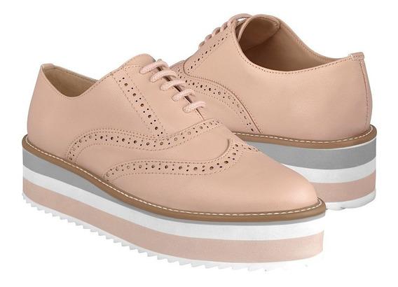 Zapatos Casuales De Mujer Capa De Ozono 408501-6 Maquillaje