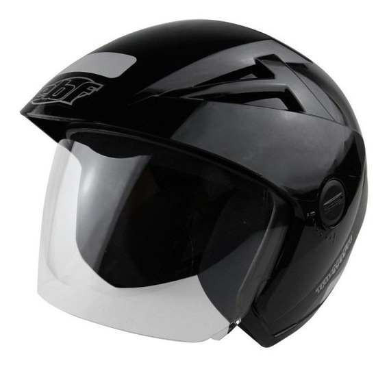 Capacete Aberto Ebf Thunder Open Solid + Brinde
