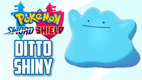 7 Dittos, Shiny, 6ivs, Jpn - Sword E Shield + Brinde