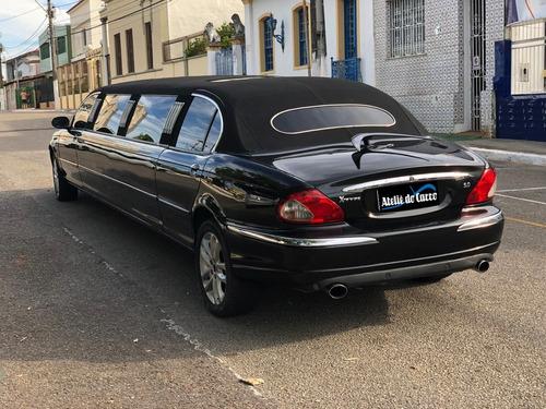 Imagem 1 de 14 de Limusine Jaguar X Type 2002 Equipada E Pronta Para Trabalhar