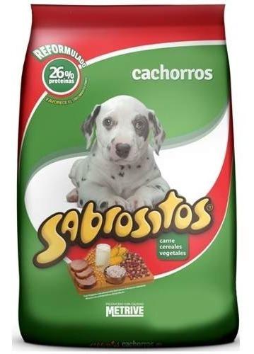 Imagen 1 de 2 de Sabrositos Cachorros 18kg Mas Envio