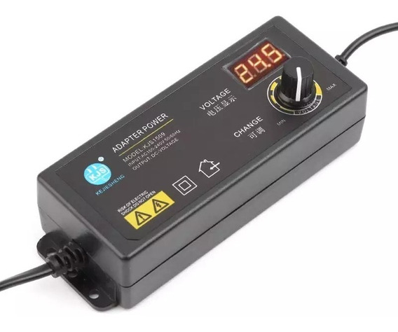 Fonte Ajustável Bancada 3-24v 2.5a Power Adapter Display