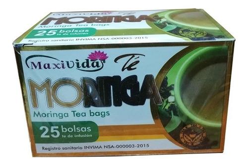Té De Moringa Caja 25 Bolsas - Unidad a $740