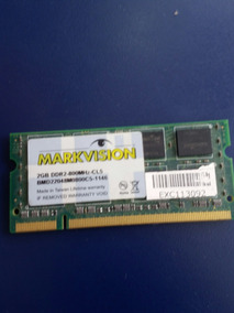 Memória Smart 1gb Ddr2 Notebook-667mhz