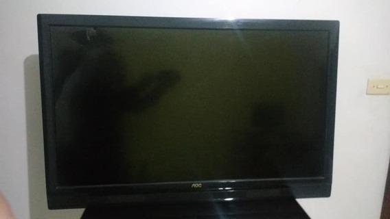 Tv 42 Aoc Trincou Só Tela Conforme Fotos E Videos