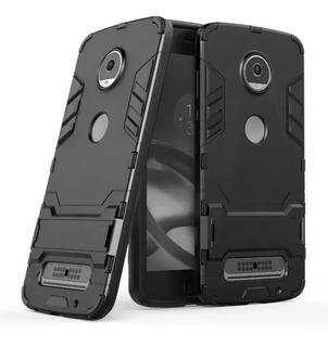 Funda Moto Z2 Play Protector Uso Rudo