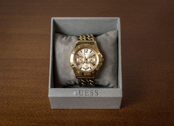 Relógio Feminino Guess Analógico Dourado