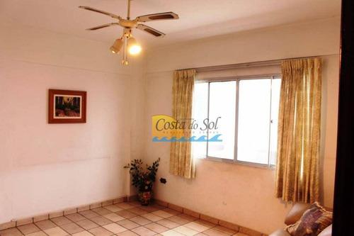 Apartamento Com 2 Dormitórios À Venda, 75 M² Por R$ 185.000,00 - Ocian - Praia Grande/sp - Ap14819