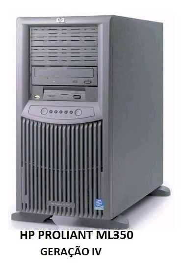 Hp Proliant Ml 350 G4 - Intel Xeon 2 Hds 146gb