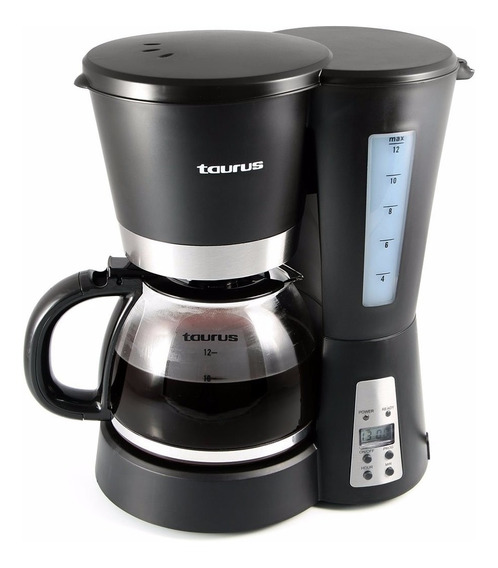 Cafetera Programable Taurus 12 Tazas Bequia Digital Nueva