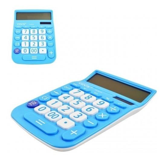 Calculadora De Mesa 12 Digitos - Cores Sortidas