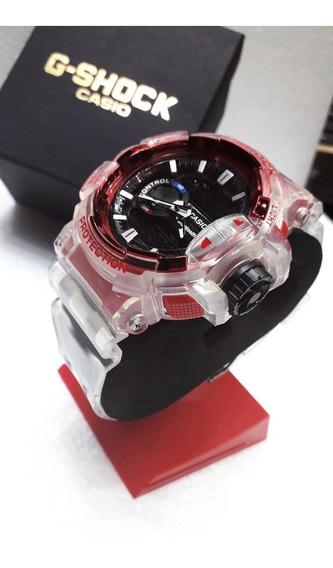 Kit 4 Relógios Transparentes Esportivos Parcelamento S/juros