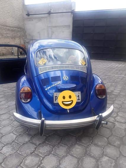 Vw Escarabajo 1986 Escarabajo Flamante