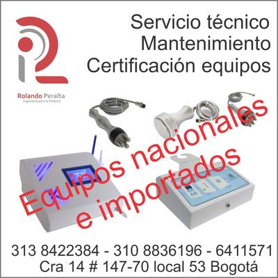 Servicio Técnico, Mantenimiento Equipos Estética