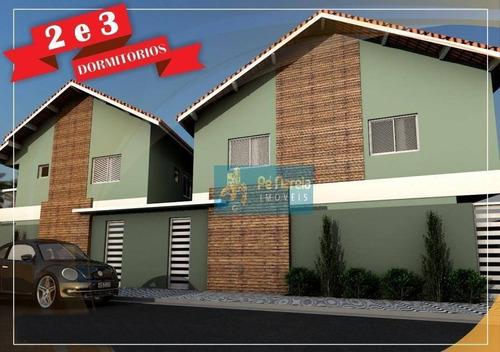 Casa Com 2 Dormitórios À Venda, 48 M² Por R$ 142.000 - R2p4c - Princesa - Praia Grande/sp - Ca0103