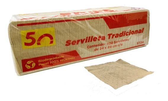 Servilleta Ecológica Caja Con 6000 Piezas