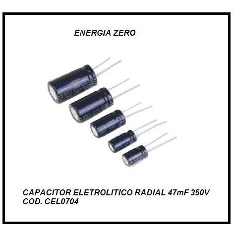 Capacitor Ele Rad 47mf 250v -100mf 50v Cod Link
