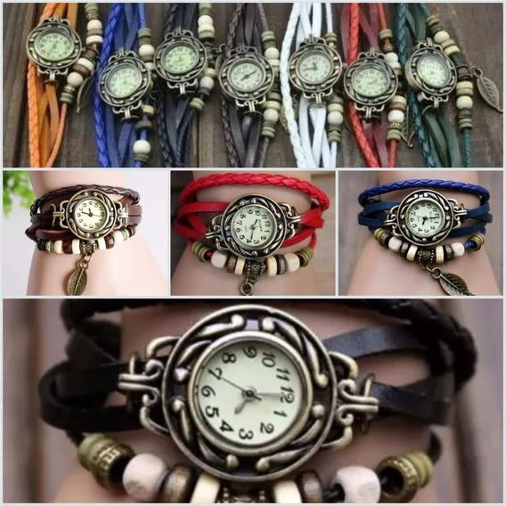 Kit 12 Relógios Feminino Pandora Couro Atacado Pra Revenda
