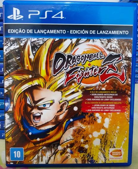 Dragon Ball Fighter Z Dbz Ps4 Jogo Mídia Física Português