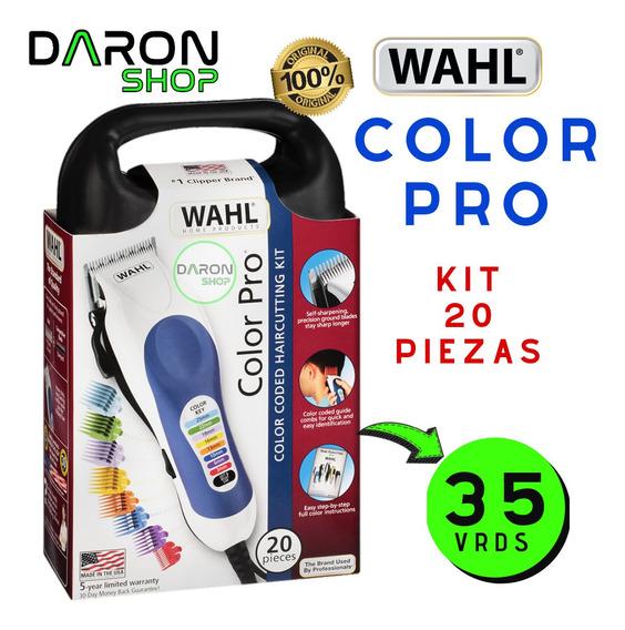 Maquina De Afeitar Wahl Color Pro Original Leer (40)