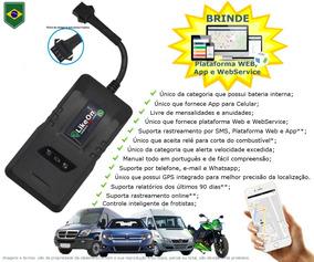 Mini Rastreador Veicular Gps 4g Rastreia Por Celular E Pc