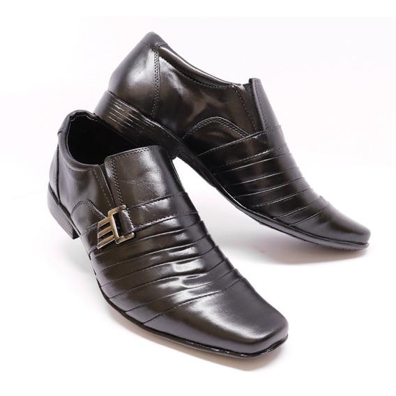Sapato Social Masculino Em Couro Legítimo Barato !!