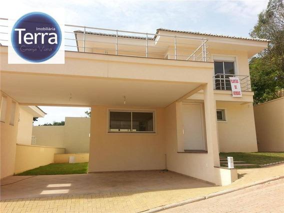 Casa Residencial À Venda, Quintas Do Leomil, Fazendinha, Granja Viana - Ca0306