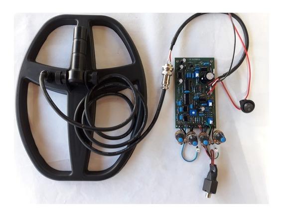 Placa Prof. Montada Detector De Metais Pi + Bobina + Brinde