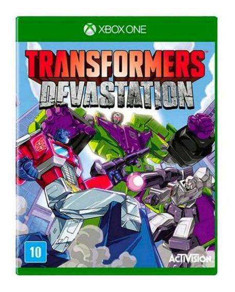 Jogo Transformers Devastation Xboxone Mídia Física | Vitrine