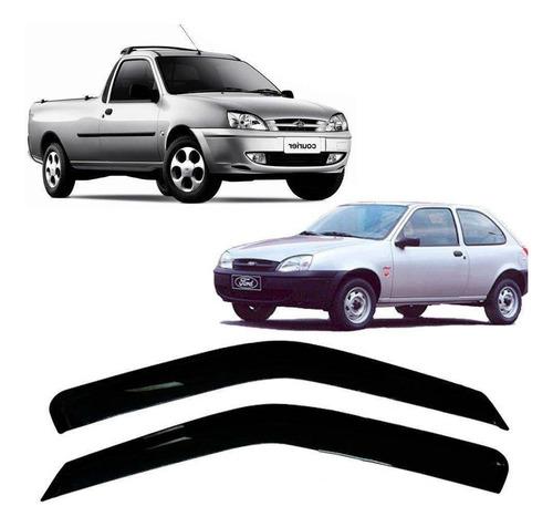 Imagem 1 de 7 de Ford Fiesta Hatch 96/01 E Courier97/12 2pt Canalheta Tg Poli
