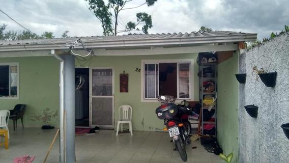 Casa Em Rio Grande, Palhoça/sc De 50m² 2 Quartos À Venda Por R$ 128.000,00 - Ca185330