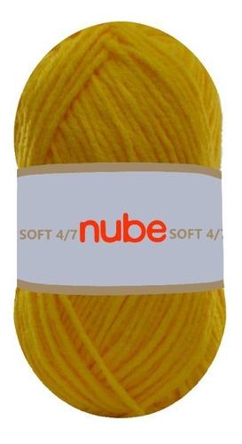Imagen 1 de 7 de Hilado Nube Soft 4/7 X 1 Ovillo - 100 Grs. Por Color