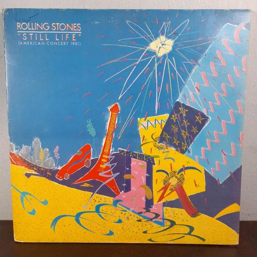 Imagem 1 de 9 de Vinil Lp Rolling Stones Stiller Life American Concert 1981