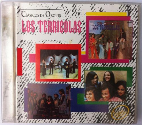 Los Terricolas. Clásicos De Oro. Cd Original, Usado