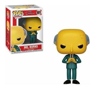 Muñeco Funko Pop Mr. Burns 501 Los Simpsons Original