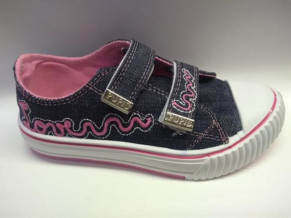 Zapatillas Pupis De Jens Con Abrojo Exelente Calidad!!!