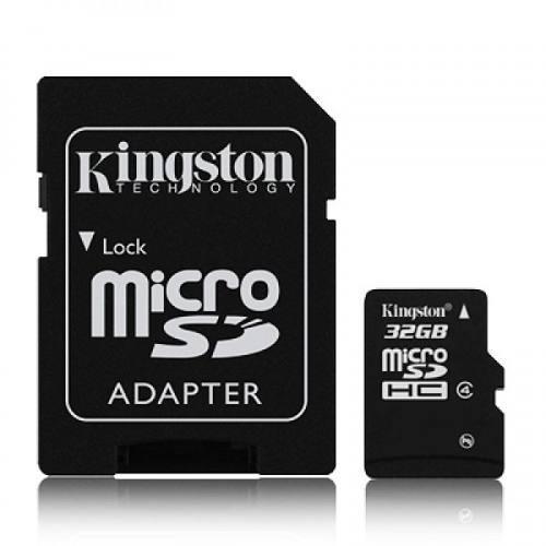 Cartão De Memória Micro Sd Kingston 32gb + Leitor De Cartões