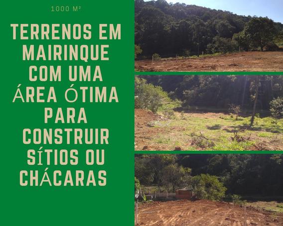 Terrenos Com Uma Área Muito Boa Para Fazer Chácaras E Sítios