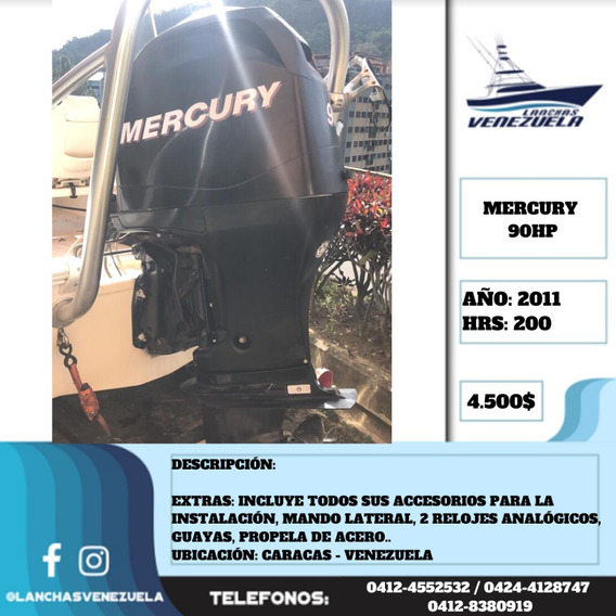 Motor Mercury 90hp Lv486