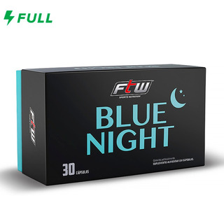 Triptofano Blue Night - 30 Cápsulas - Ftw