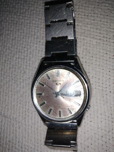 Relógio Seiko 5 6119-7010 21 Jewels Raro