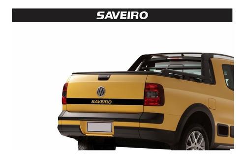Emblema Adesivo Tampa Traseira Volkswagen Saveiro G5 G6