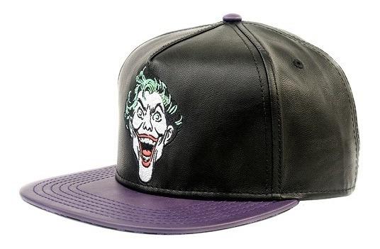 Gorra Plana Snapback The Joker Batman Dc Comics Máscara De L