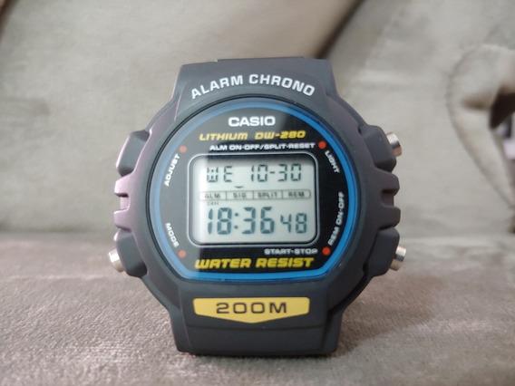 Relógio Casio Dw 280 Impecável Nos Sem Detalhe