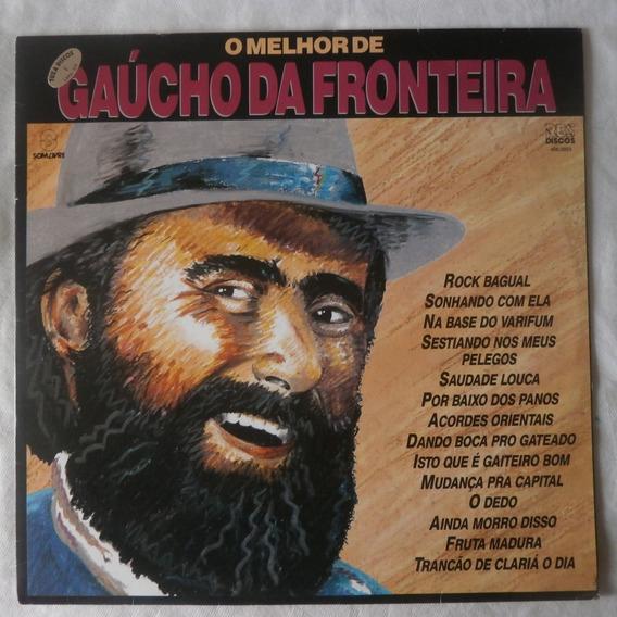 Lp O Melhor De Gaúcho Da Fronteira 1989, Disco Vinil Gaucho