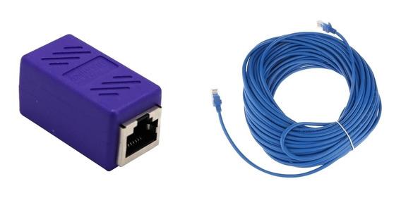 30m / 98,5 Pés Cat5e Patch Cordão Ethernet Rede Lan Cabo R